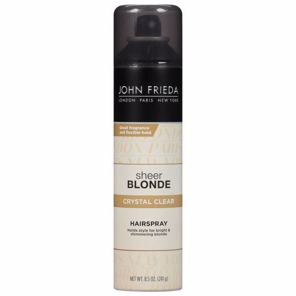 Imagem de Hairspray Crystal Clear John Frieda Sheer Blonde 241g