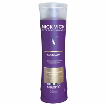 Imagem de Shampoo Clareador Nick Vick Alta Performance 250ml