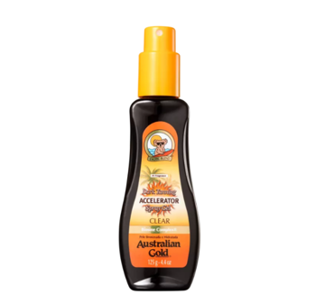 Imagem de Australian Gold Accelerator Dark Tanning Spray Gel Clear Spray Bronzeador 125ml
