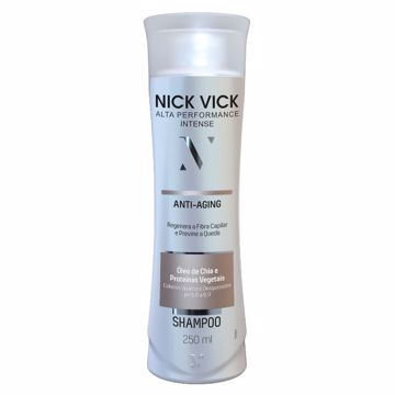 Imagem de Shampoo Anti Aging NICK VICK Alta Performance Intense 250ml