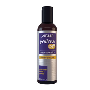 Imagem de Yenzah Yellow Off Condicionador Desamarelador 240ml