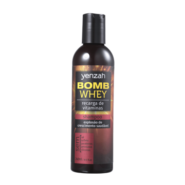 Imagem de Yenzah Power Whey Bomb Cream Shampoo 240ml