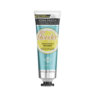 Imagem de Máscara Go Blonder Lemon Miracle John Frieda Sheer Blonde 103ml