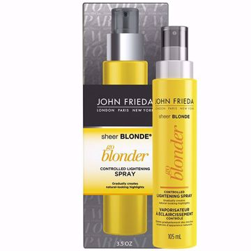 Imagem de Spray Clareador Go Blonder John Frieda Sheer Blonde Antiga Embalagem 103ml